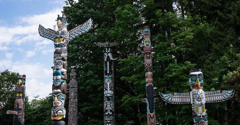 Stanley Park's Totem Poles   © Davis Staedtler / Flickr
