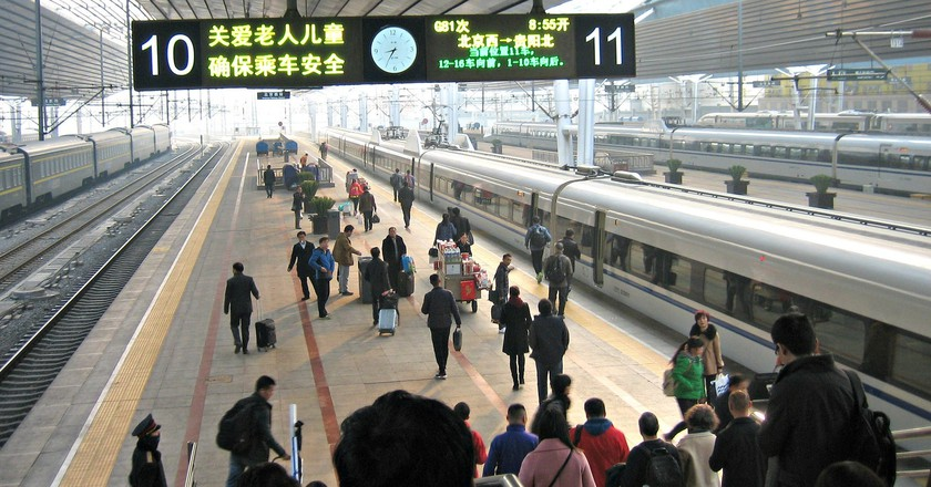Train station in China | © Prince Roy/Flickr