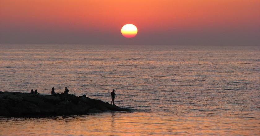Tel Aviv sunset | © Yaffa Phillips / Flickr