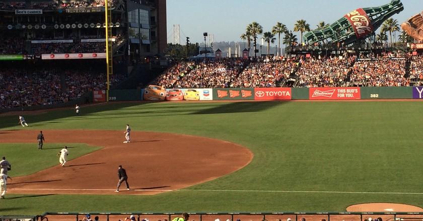 AT&T baseball park San Francisco Giants & Dodgers   © Harold Litwiler/Flickr