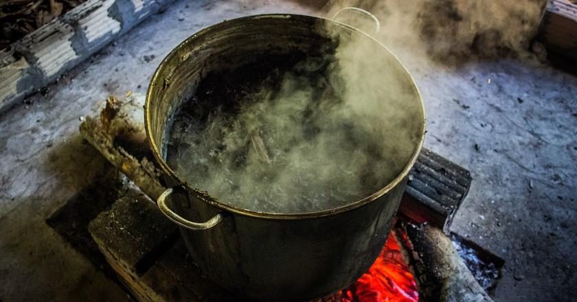 Ayahuasca brewing | © Apollo/Flickr