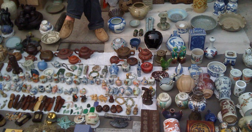 Panjiayuan Antique Market | © paolo mutti / Flickr