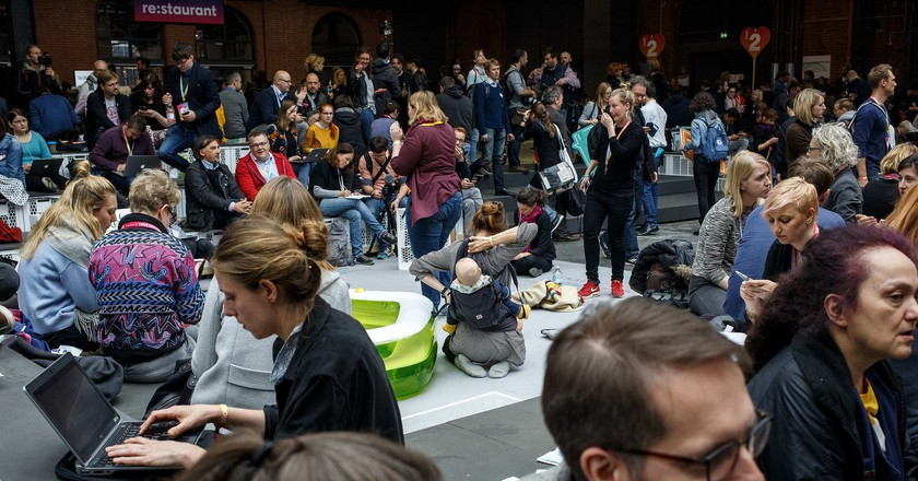 BesucherInnen am 09.05.2017 auf der re:publica (#rp17) in Berlin | © re:publica