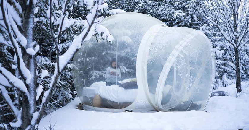 Bubbles Hotel, Iceland | © Shaherald Chia/ Flickr