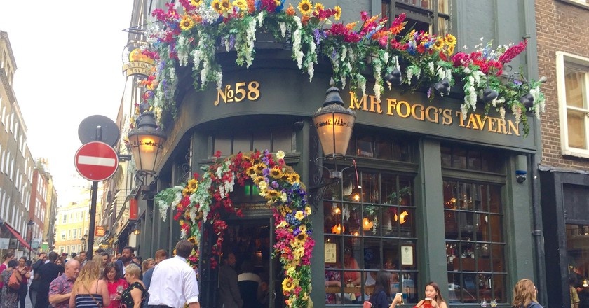 Mr Fogg's Tavern, Covent Garden | © Stephen Kelly/Flickr