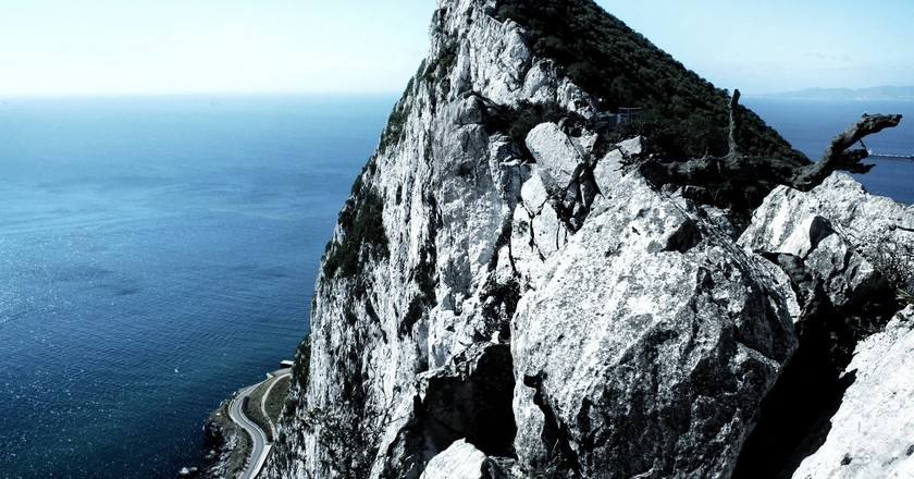 The Rock of Gibraltar; Rojs Rozentāls, flickr
