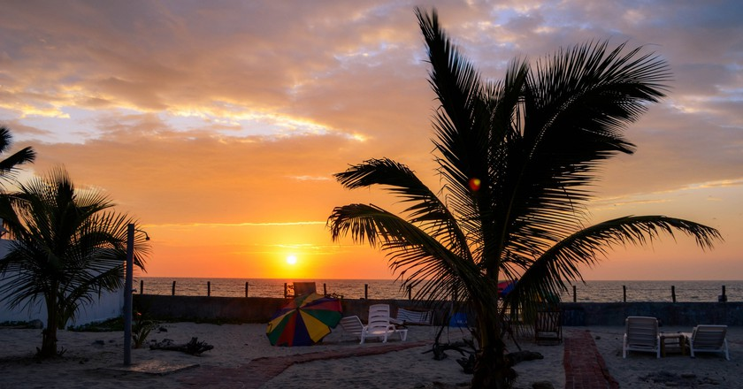 Sunset in Mancora | © Esmée Winnubst / Flickr