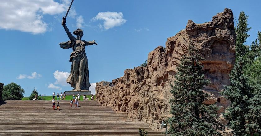 Mamai Hill, Volgograd