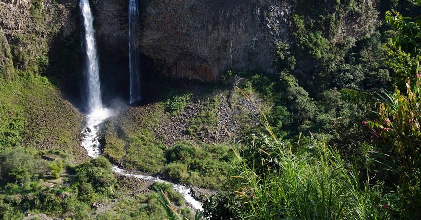 Cascadas de Agoyan, Baños, Ecuador | © Angie Drake / Flickr