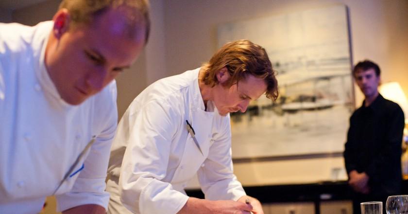 Chef Grant Achatz at Alinea | ©Johnn/Flickr