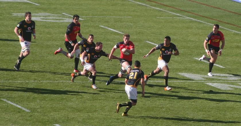 Canterbury vs Wellington ITM Cup Game at AMI Stadium | © BigBadaboom0/Flickr