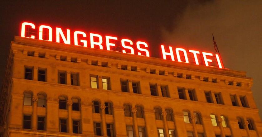 Congress Hotel | © Brian Weber/Flickr