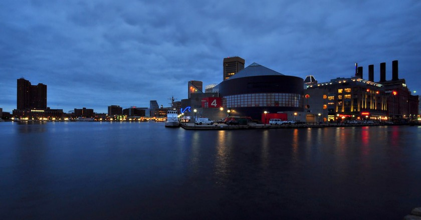 Blue Hour in Baltimore, Maryland | © Seth Oliver/Flickr