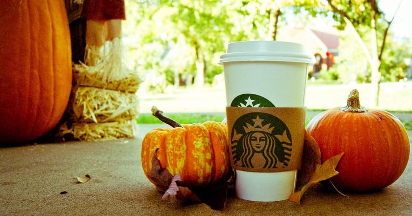 The pumpkin spice latte is Starbucks' most popular seasonal drink   © Denise Mattox/Flickr
