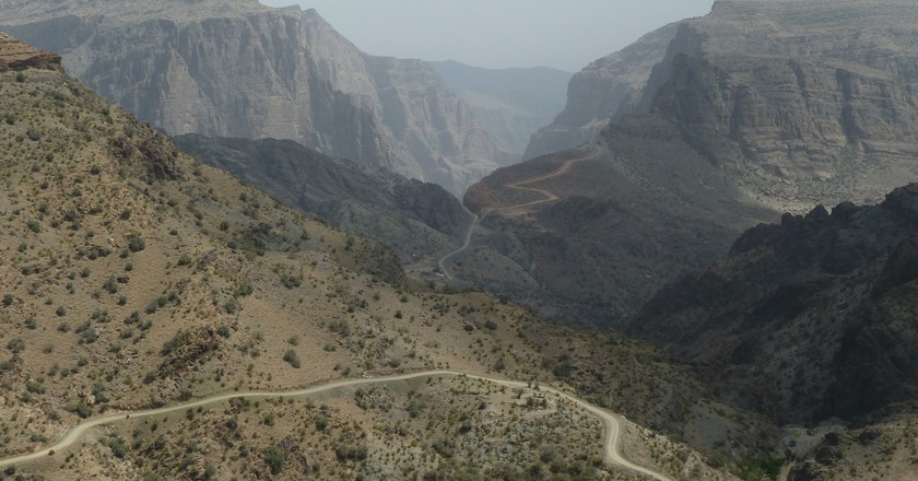 Hajar Mountains   © Kathryn james/Flickr