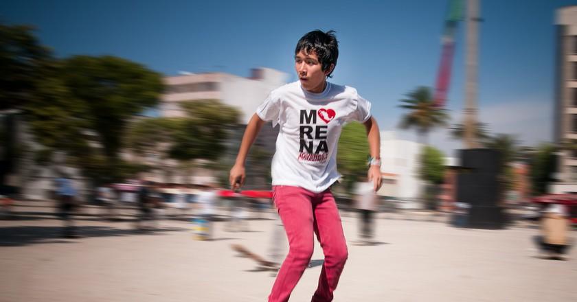 Skateboarder in Ciudad Juárez | © Eneas De Troya / Flickr