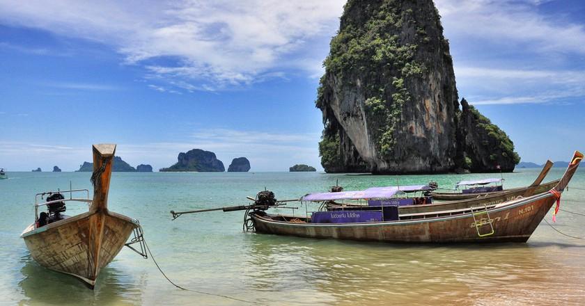 Phra Nang Beach at Krabi, Thailand   © chee.hong/Flickr