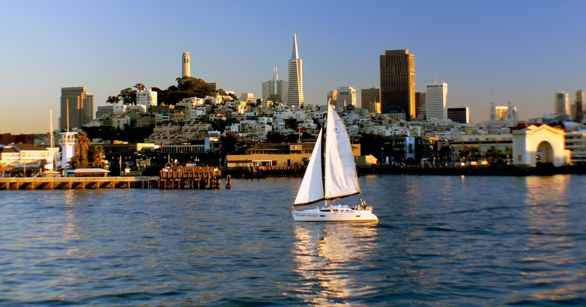San Francisco Bay | © Bernard Spragg. NZ/Flickr