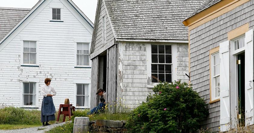 Village Historique Acadien   © Courtesy of Province of Nova Scotia