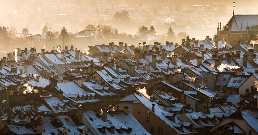 Bern's rooftops | © Felix_Broennimann/ Pixabay