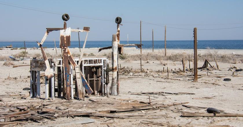 Bombay Beach and the Salton Sea   © m01229 / Flickr