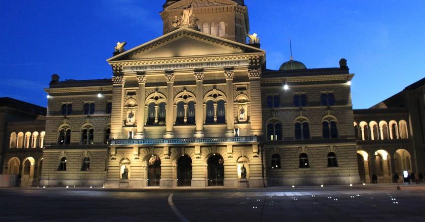 Bern's Bundeshaus | © Violetta/ Pixabay
