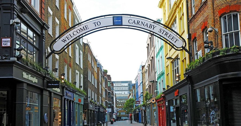 Carnaby Street | © Dun.can/WikiCommons