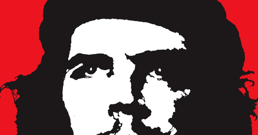 Che Guevara two tone image   © Jim Fitzpatrick