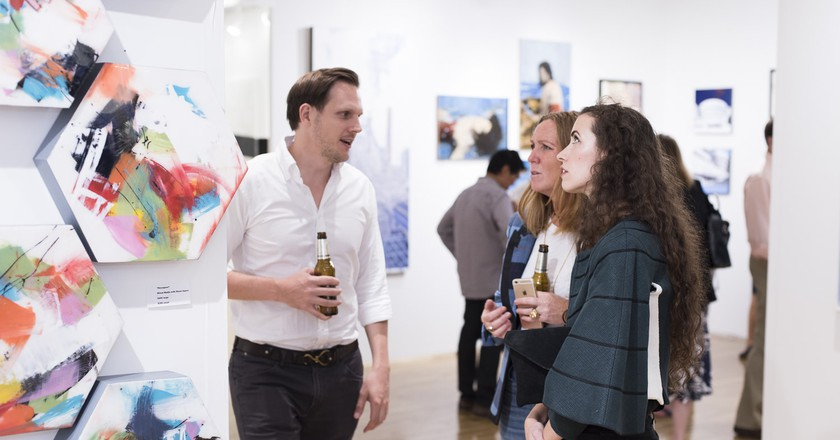Affordable Art Fair NYC   © Phillip Reed Photography