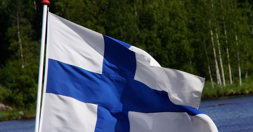 Finnish flag / Hietaparta / Pixabay