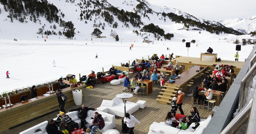 Nordic Lounge Gall de Bosc, Soldeu, Andorra   Courtesy of Grandvalira