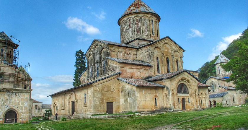 The complex of Gelati Monastery in Kutaisi