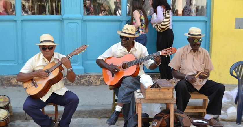 Havana Cuba Music Attitude to Life Men Caribbean © hoeldino