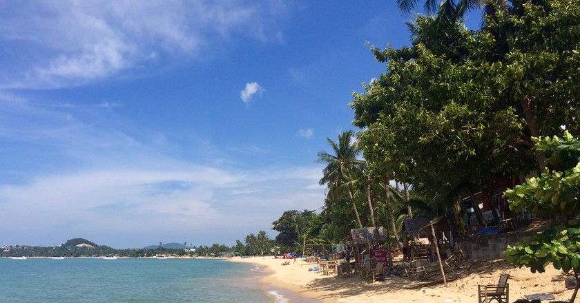 Mae Nam beach, Koh Samui   © Iona Proebst