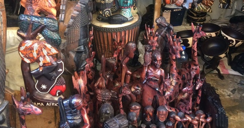 Wooden sculptures | Winifred Akpofure