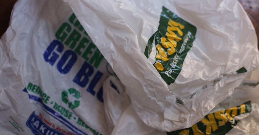 A plastic bag ban was put into effect in Kenya on August 28, 2017 | © Marieke Lensvelt, www.mariekelensvelt.com