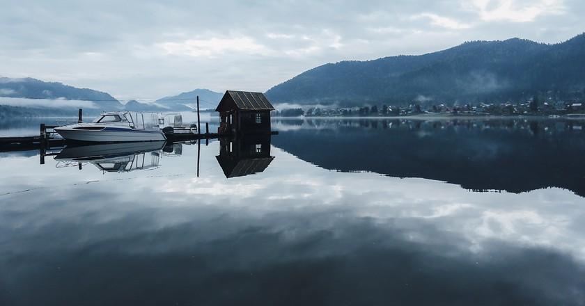 Lake Teletskoye, Altai Mountains, Russia