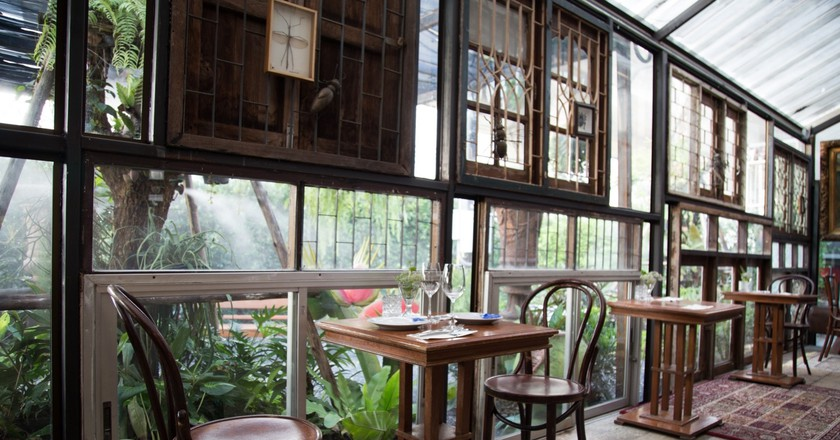 Interior of the restaurant | Courtesy of  Insects in the Backyard