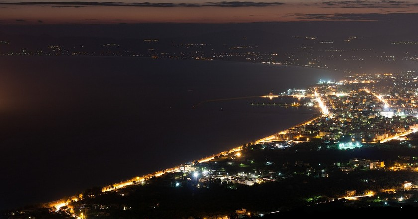 View of Kalamata by night | © kostasm19 / Pixabay