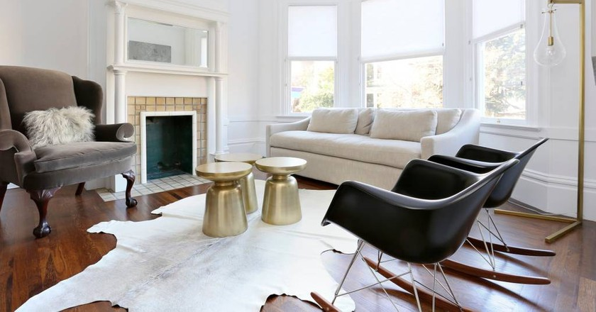 Luxe Modern Cole Valley Victorian | Courtesy of Jay and Tina / Airbnb