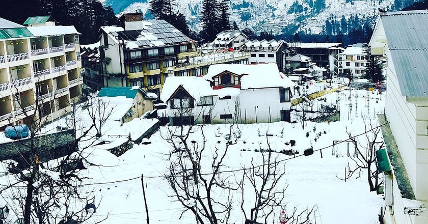 Manali in winter