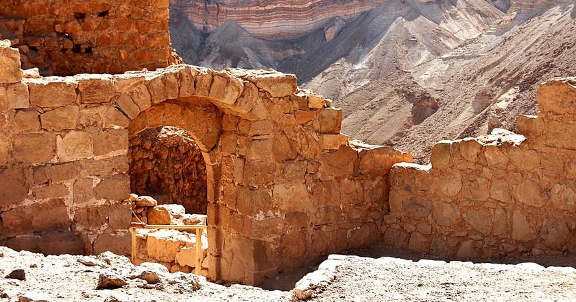 Masada Ruins | ©Wiki Commons