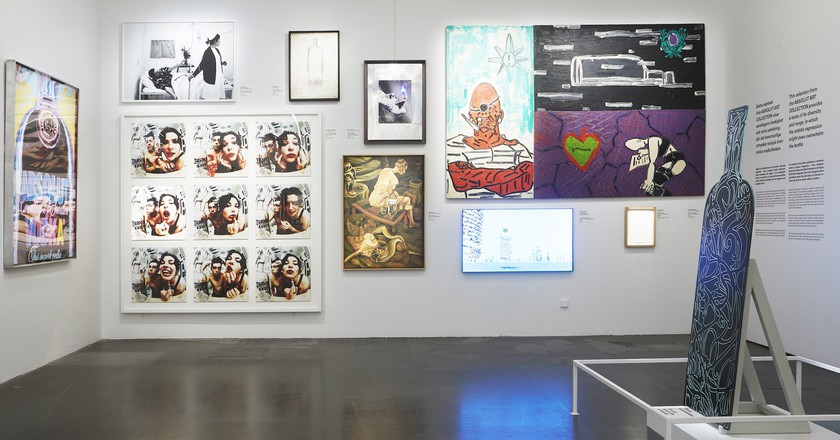 No Label from Absolut Art Collection at Spiritmuseum   Photo © Erik Adamsson, courtesy Spritmuseum