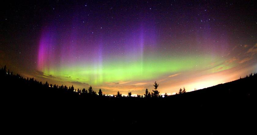 Aurora Borealis in Northern Quebec | © Image Editor / Flickr