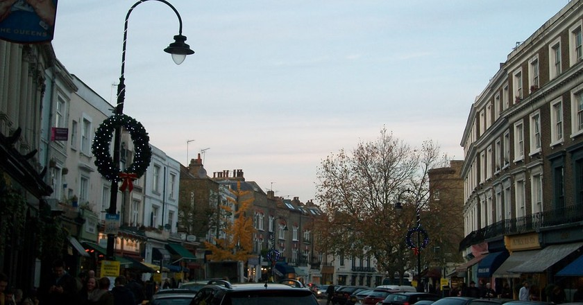Primrose Hill, home to many a literati | © Matt Churchill/Flickr