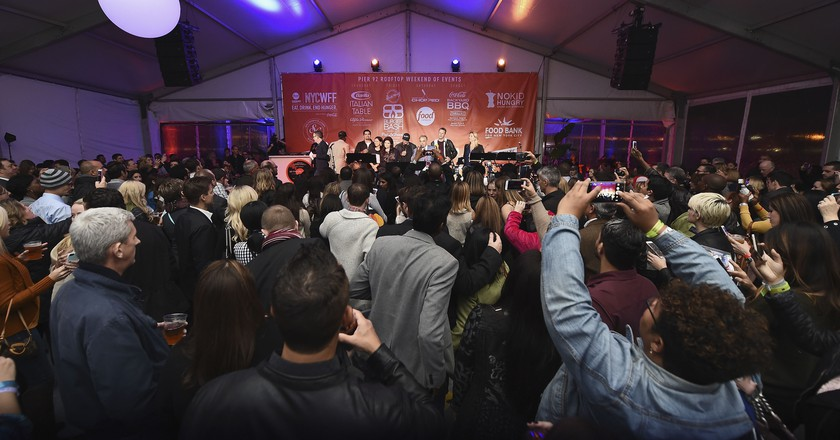Calling All Foodies: New York City Wine and Food Festival