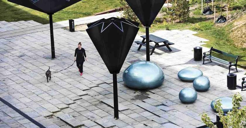 Tåsing Plads | Courtesy of GHB Landscape Architects/Landskabsarkitekter