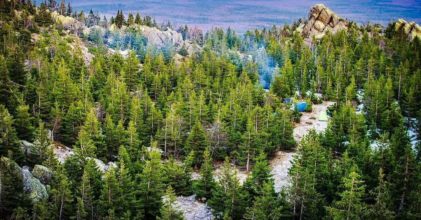 Mountain landscape, Russia