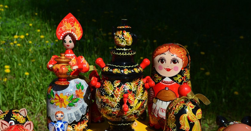 Russian folk art | ©Igor Kon/ Pixabay