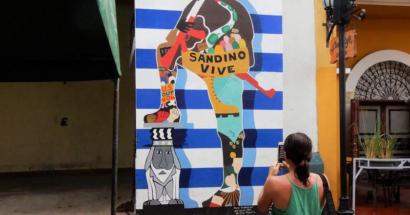 Sandino mural in Leon  | © Russell Maddicks / Flickr